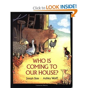 who is coming cover